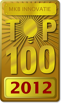 MKB top 100 2012 voor BlueMark Innovations